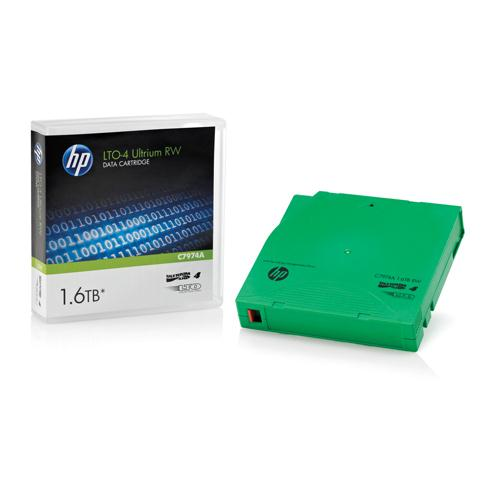 HP Ultrium LTO-4 1.6TB Data Cartridge (Pk 1) C7974A